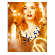 Load image into Gallery viewer, Rose McGowan Autographed Charmed City Lights 8×10 Photo