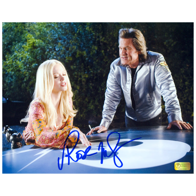 Rose McGowan Autographed Death Proof with Kurt Russell 8×10 Photo