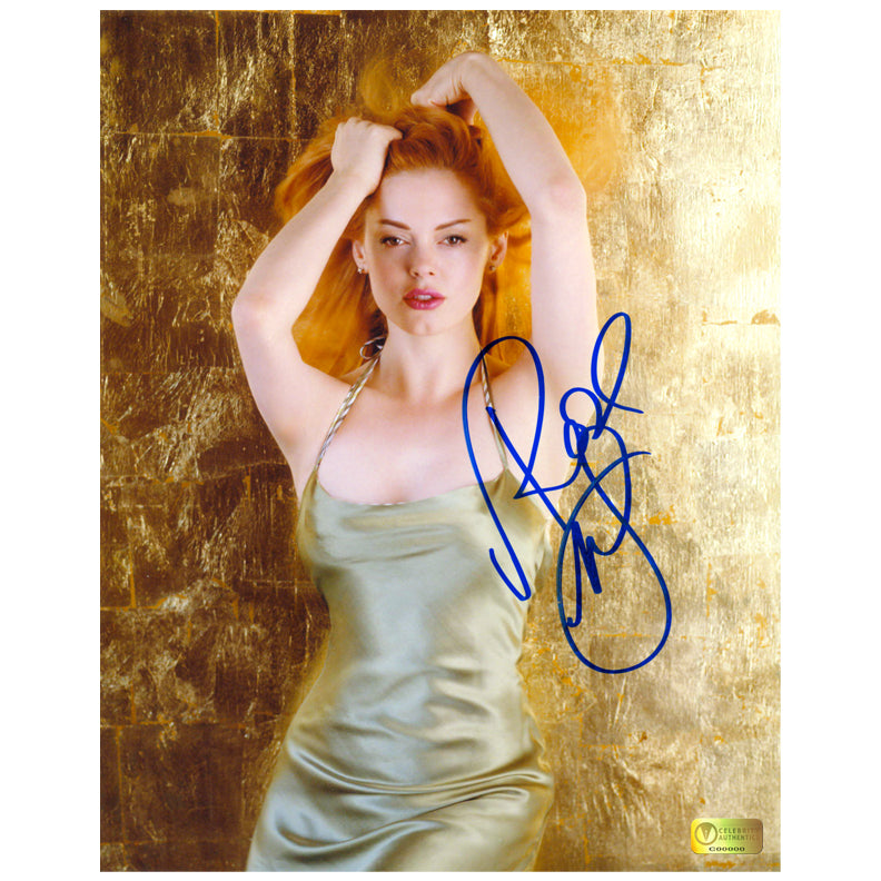 Rose McGowan Autographed Golden Dream 8x10 Photo