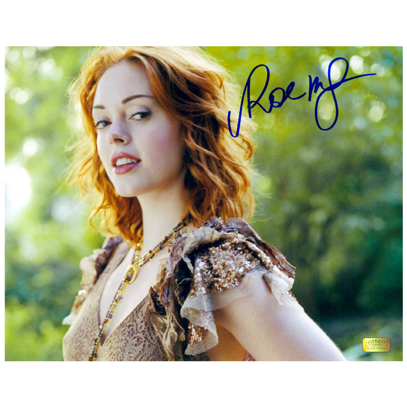 Rose McGowan Autographed Naughty Nature 8×10 Photo