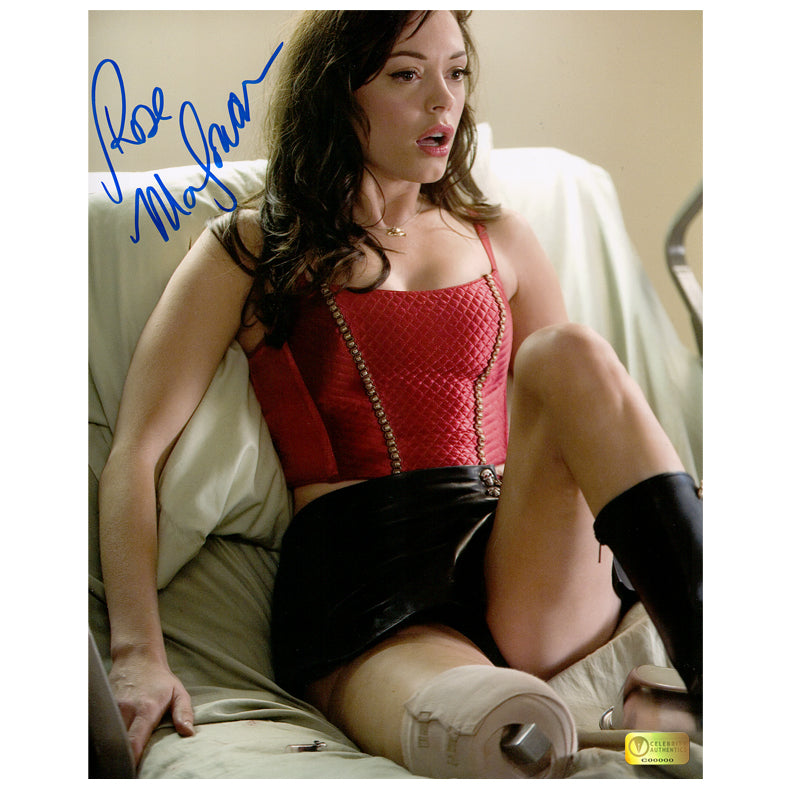 Rose McGowan Autographed Grindhouse Planet Terror 8×10 Scene Photo