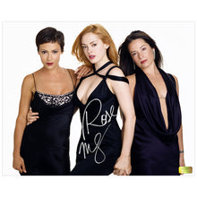 Load image into Gallery viewer, Rose McGowan Autographed Charmed Trio 8x10 Photo