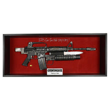 Load image into Gallery viewer, Rose McGowan Autographed Planet Terror 1:1 Scale Cherry Darling Leg Gun Replica
