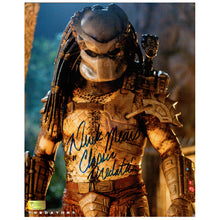 Load image into Gallery viewer, Derek Mears Autographed Classic Predators 8x10 Scene Photo