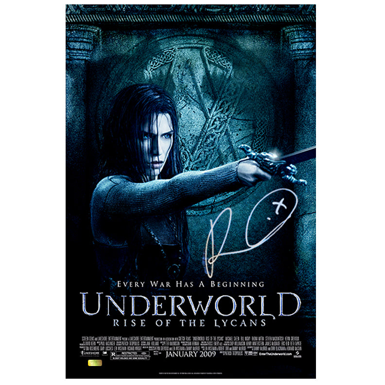 Rhona Mitra Autographed Underworld Rise of Lycans Original Promotional 11x17 Poster