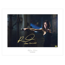Load image into Gallery viewer, Rhona Mitra Autographed Doomsday 17x22 Fine Art Photo