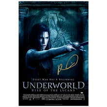 Load image into Gallery viewer, Rhona Mitra Autographed Underworld Rise of Lycans 27×40 Single Sided Poster