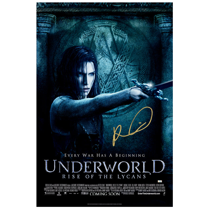 Rhona Mitra Autographed Underworld Rise of Lycans 27×40 Single Sided Poster