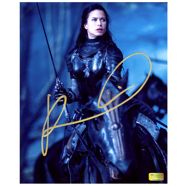 Rhona Mitra Autographed Underworld Rise of the Lycans 8x10 Action Photo
