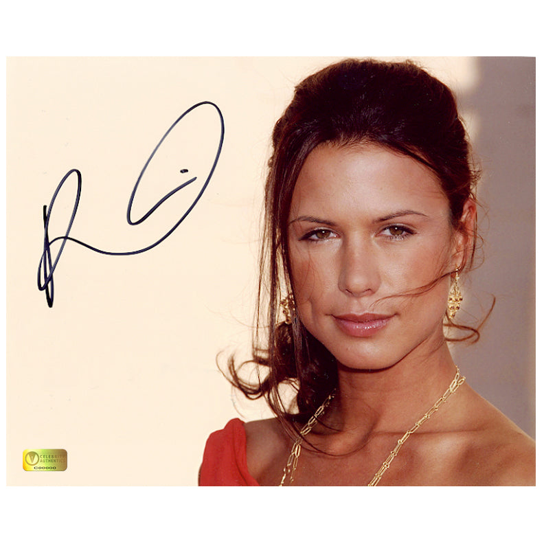 Rhona Mitra Autographed 8×10 Portrait Photo