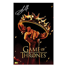 Load image into Gallery viewer, Jason Momoa Autographed Game of Thrones Season II 11x17 Poster