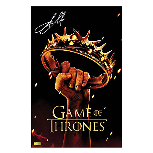 Jason Momoa Autographed Game of Thrones Season II 11x17 Poster
