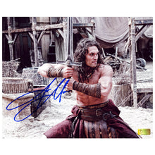 Load image into Gallery viewer, Jason Momoa Autographed Conan the Barbarian Cimmerian Warrior 8x10 Photo