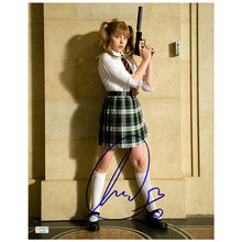 Load image into Gallery viewer, Chloe Grace Moretz Autographed Kick-Ass Hit-Girl School Girl 11x14 Photo