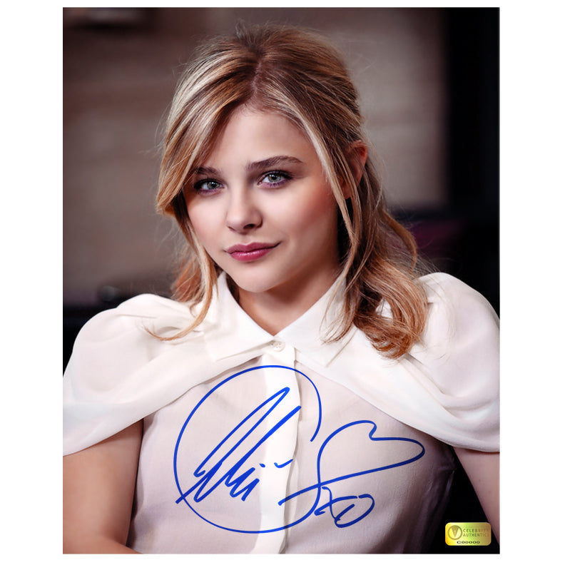 Chloe Grace Moretz Autographed Glamour 8x10 Photo