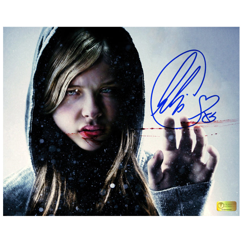 Chloe Grace Moretz Autographed Let Me In 8x10 Photo