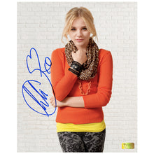 Load image into Gallery viewer, Chloe Grace Moretz Autographed 8×10 Studio Photo