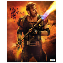 Load image into Gallery viewer, Jeffrey Dean Morgan Autographed Watchmen The Comedian Fired Up 8x10 Photo