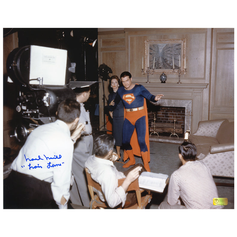 Noel Neill Autographed Adventures of Superman On Set 11x14 Photo