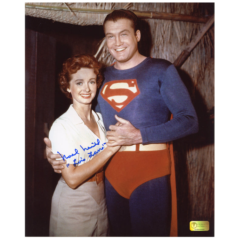 Noel Neill Autographed The Adventures of Superman 1950's Embrace 8x10 Photo