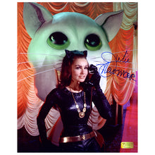 Load image into Gallery viewer, Julie Newmar Autographed Catwoman Cat Phone 8x10 Photo