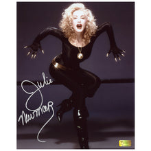 Load image into Gallery viewer, Julie Newmar Autographed Catwoman 8x10 Studio Photo