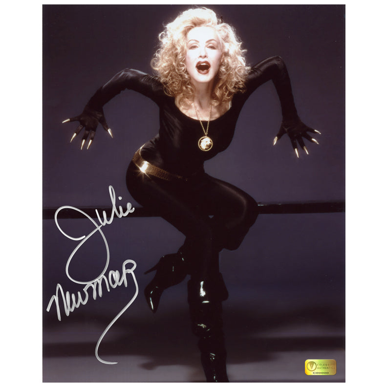 Julie Newmar Autographed Catwoman 8x10 Studio Photo