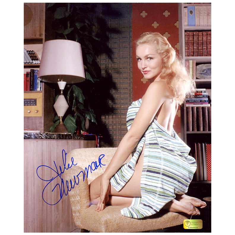 Julie Newmar Autographed 8×10 Studio Photo