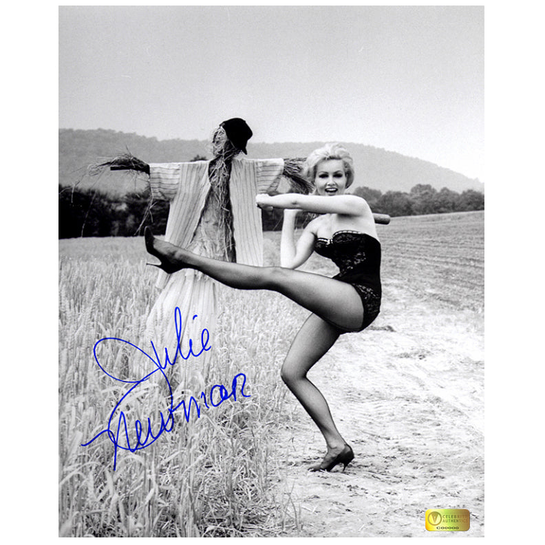 Julie Newmar Autographed Play Ball 8x10 Photo