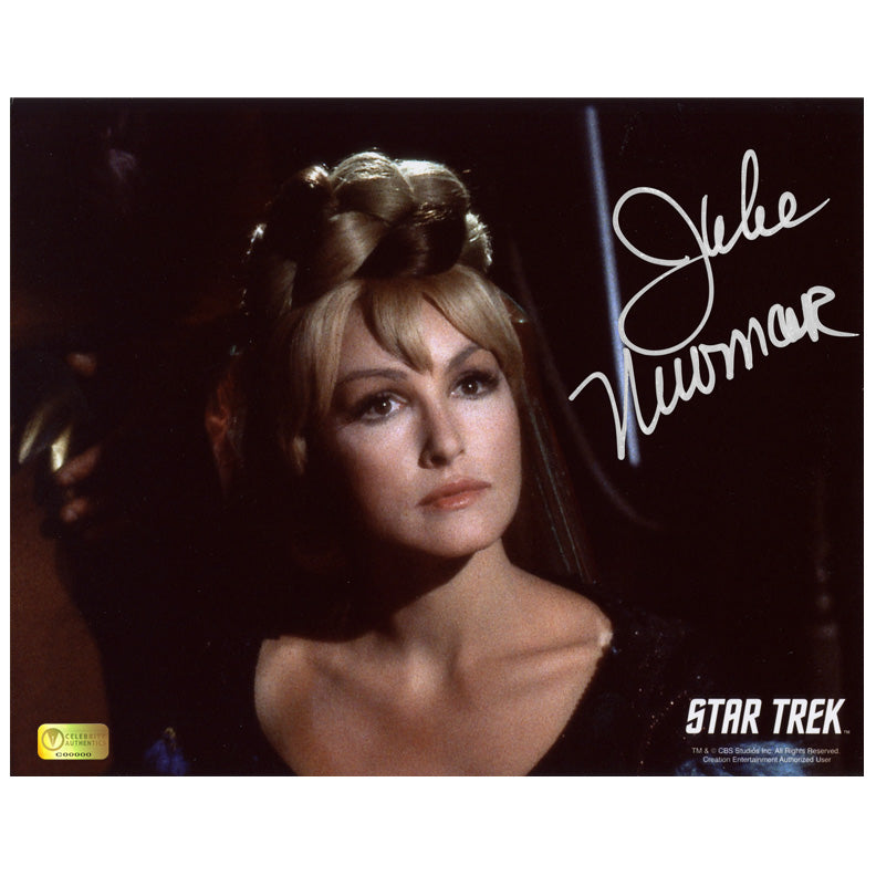 Julie Newmar Autographed Star Trek Eleen 8x10 Photo