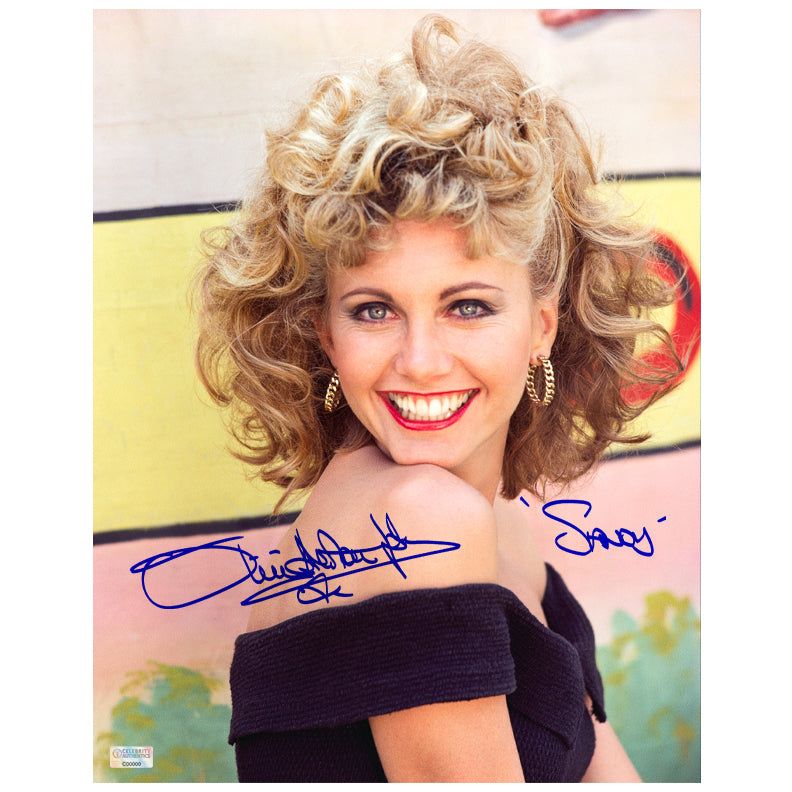 Olivia Newton-John Autographed Grease Sandy 11x14 Photo