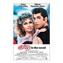 Load image into Gallery viewer, Olivia Newton-John & John Travolta Autographed Grease 27x40 Poster