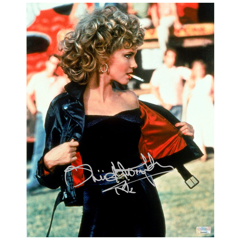 Olivia Newton-John Autographed Grease You Better Shape Up 8x10 Photo