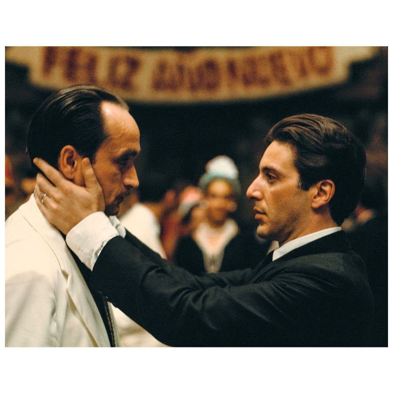 Al Pacino Autographed Godfather Michael & Fredo 11x14 Photo PRE-ORDER