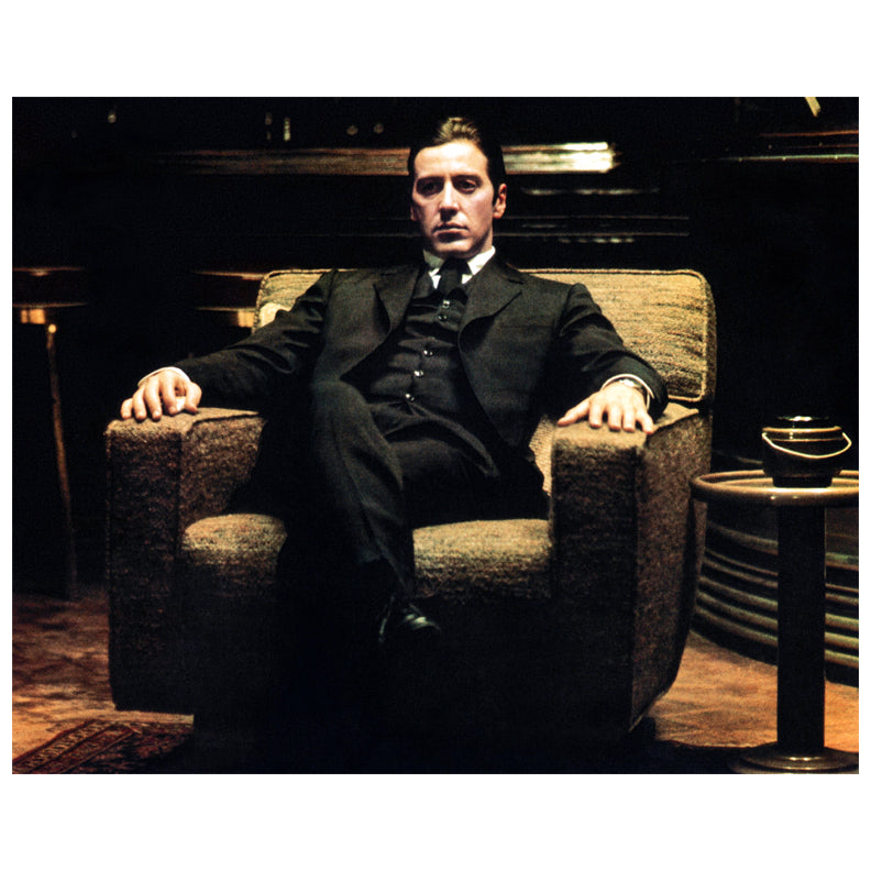 Al Pacino Autographed The Godfather: Part II Michael Corleone 16x20 Photo PRE-ORDER