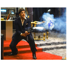 Load image into Gallery viewer, Al Pacino Autographed Scarface Tony Montana My Little Friend 16x20 Action Photo