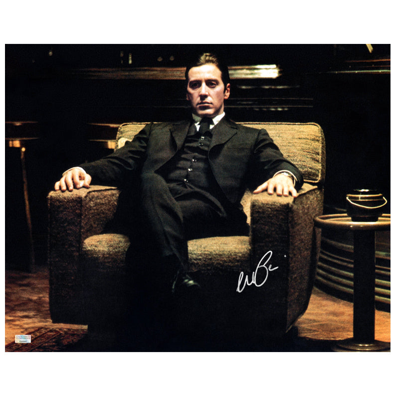 Al Pacino Autographed The Godfather: Part II Michael Corleone 16x20 Photo