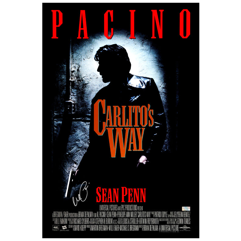 Al Pacino Autographed Carlito's Way 16x24 Movie Poster