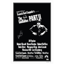Load image into Gallery viewer, Al Pacino Autographed The Godfather: Part II 16x24 Movie Poster