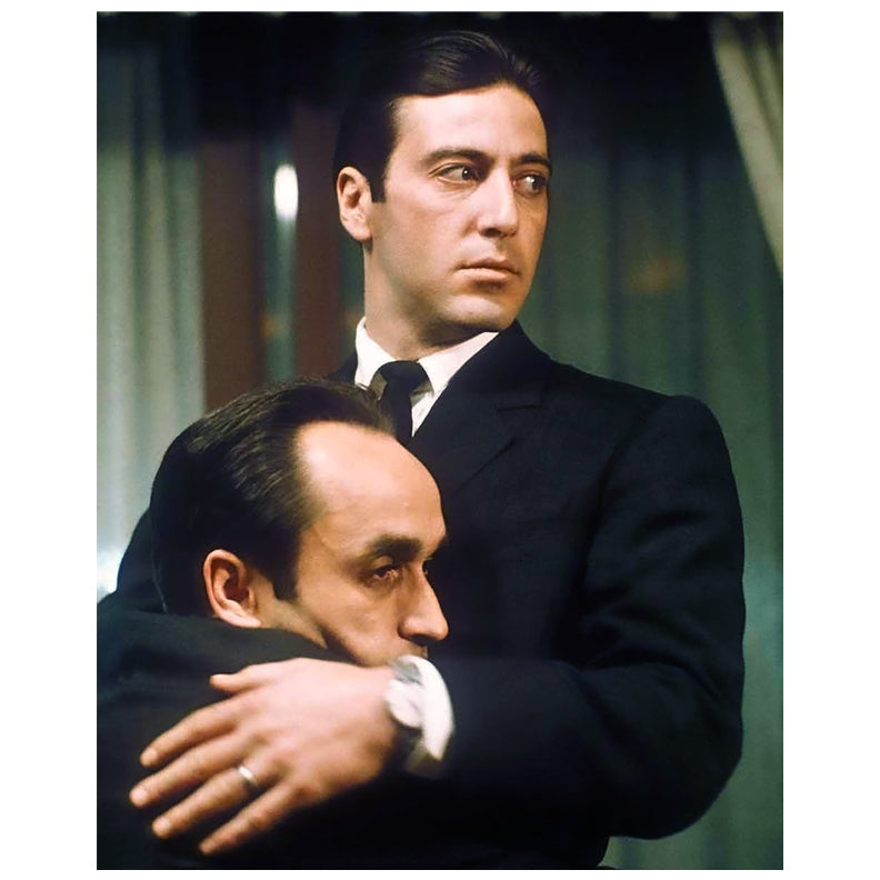 Al Pacino Autographed Godfather Michael with Fredo 8x10 Photo PRE-ORDER