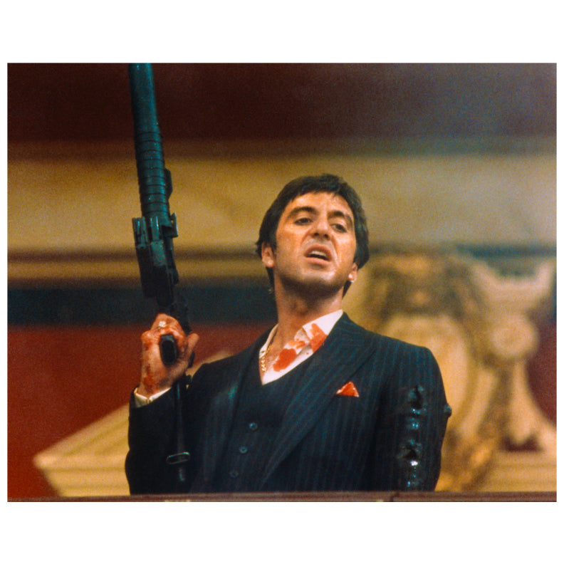 Al Pacino Autographed Scarface Little Friend 8x10 Photo PRE-ORDER