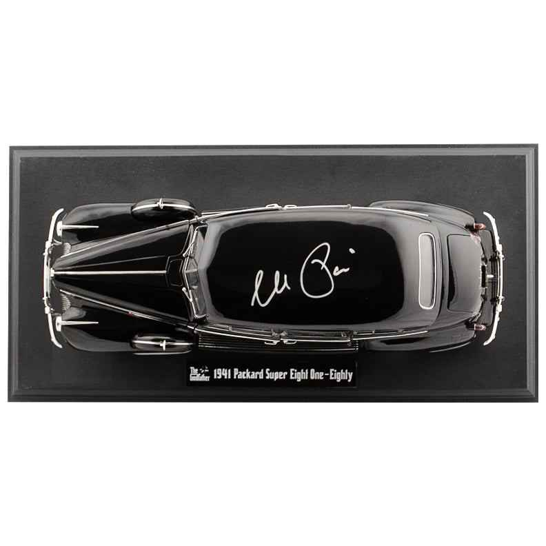 Al Pacino Autographed The Godfather 1:18 Scale Die-Cast 1941 Packard Super Eight One-Eighty