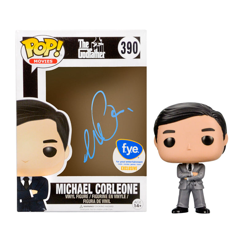 Al Pacino Autographed The Godfather Michael Corleone POP Vinyl #390