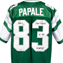 Load image into Gallery viewer, Mark Wahlberg and Vince Papale Autographed Invincible Philadelphia Eagles Jersey