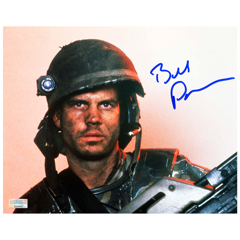 Bill Paxton Autographed Aliens Hudson 8x10 Photo