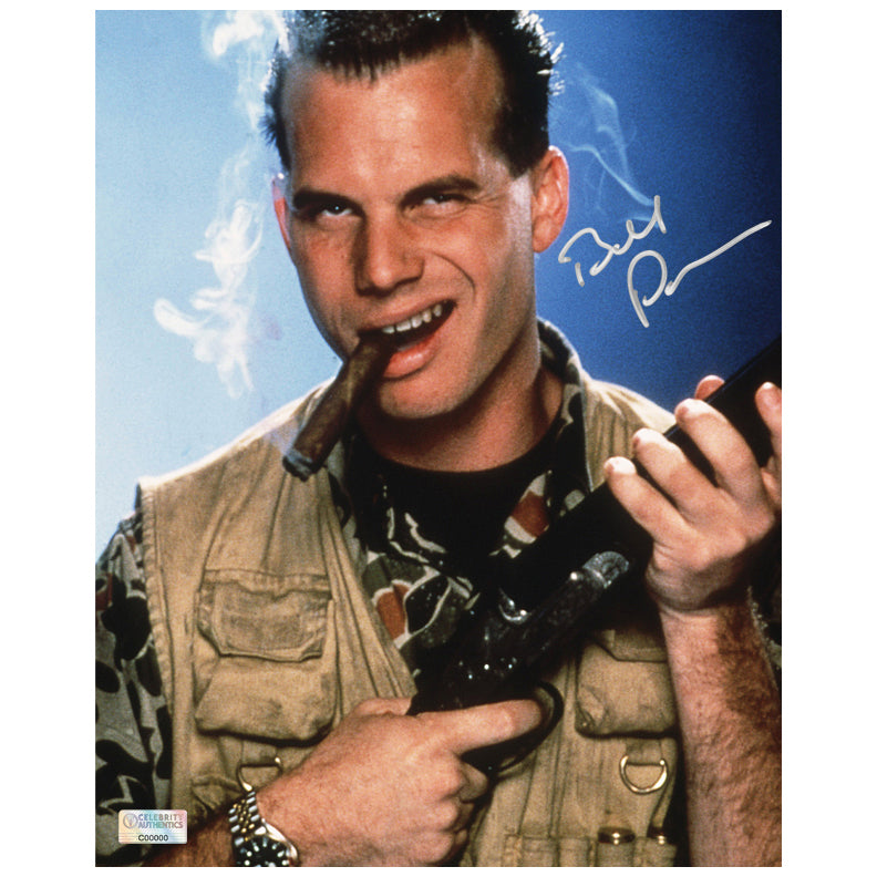 Bill Paxton Autographed Weird Science 8x10 Photo