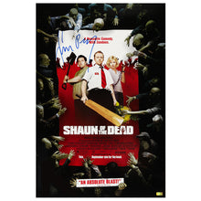 Load image into Gallery viewer, Simon Pegg Autographed Shaun of the Dead 16x24 Poster