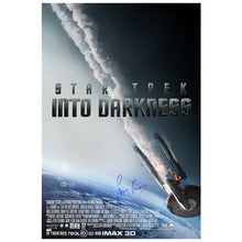 Load image into Gallery viewer, Simon Pegg Autographed Star Trek: Into Darkness 24x36 Poster