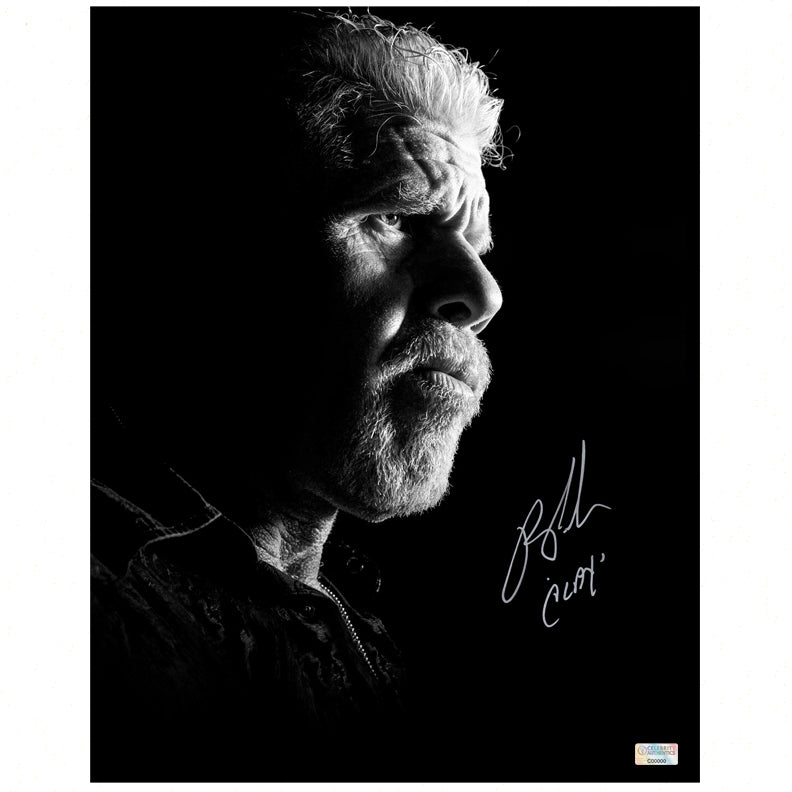 Ron Perlman Autographed Sons of Anarchy Clay Morrow 11x14 Photo