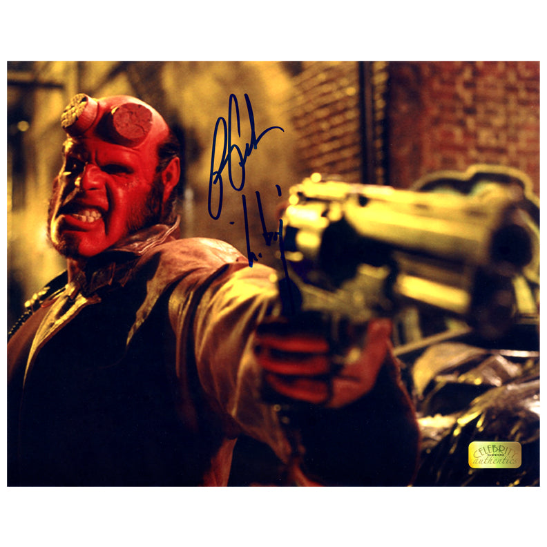 Ron Perlman Autographed Samaritan 8x10 Photo